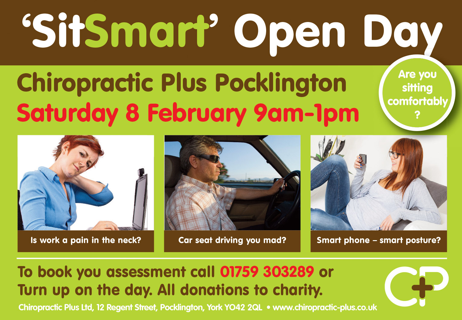 'Sit Smart' Open Day 8 Feb 14